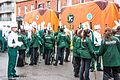 Colorado State University Marching Band, Colorado, USA - Getting Ready For The 2013 Patrick's Day Parade (8565852709).jpg