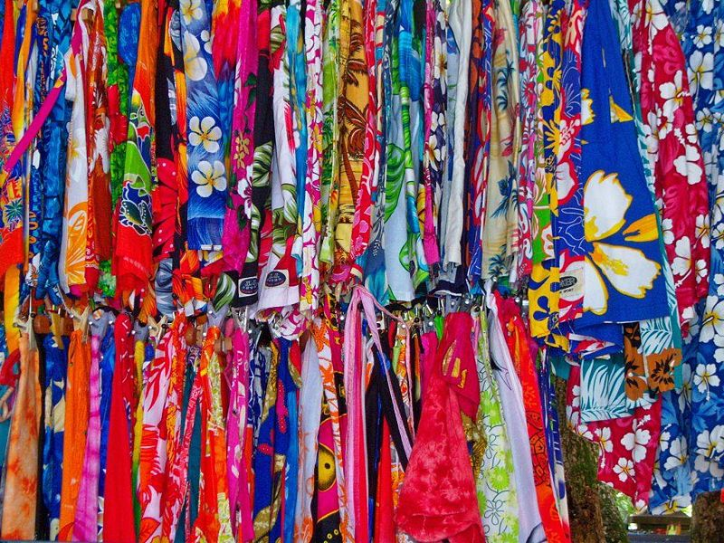File:Colourful Skirts at Seychelles Market.jpg
