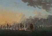 Combat naval de Louisbourg 1781