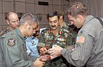 Combined exchange training with the Indian Armed Forces, at Air Force Station Agra 2002.jpg