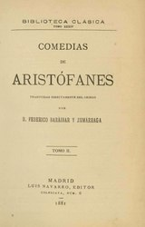 Aristófanes: Comedias de Aristófanes