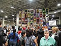 Comikaze Expo 2011 - wall of heroes (6325381134).jpg