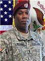 Command Sergeants Major Kevin L Williams of the 189th Combat Sustainment Support Battalion (Airborne).jpg