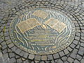 Commemorative Plaque book burning Frankfurt Hesse Germany.JPG