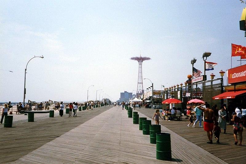 File:Crowds at Coney Island Beach IMG 1770.JPG