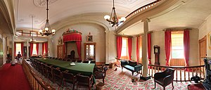 Province House (Prince Edward Island) - Confederation Chamber within Province House, August 2011