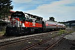 ConnDOT 6699 with Constitution Liners at Waterbury, June 2003.jpg