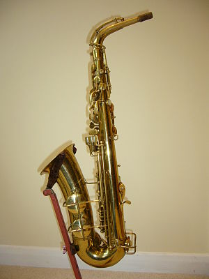 Pan American Band Instrument Company - A Conn 'Pan American' alto saxophone, manufactured circa 1948. This saxophone has a similar body to a Conn 6M and keywork which is reminiscent of a Conn New Wonder