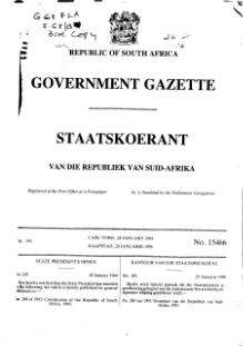 Constitution of the Republic of South Africa 1993 from Government Gazette.djvu