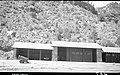 Construction equipment, storage Building 80 and Building 83, Oak Creek. ; ZION Museum and Archives Image 004 04 015 ; ZION 7355 (568ab80d312c4d7dbdfc69fd97e5f4cb).jpg