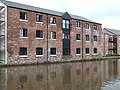 Converted Warehouses, Macclesfield Canal, Congleton - geograph.org.uk - 576263.jpg