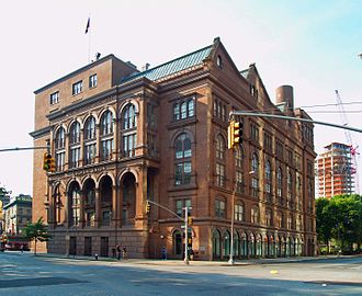 Lower Manhattan - The Cooper Union at Astor Place, where Abraham Lincoln gave his famed Cooper Union speech, is one of the area's most storied buildings.