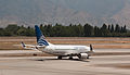 Copa Airlines 737, Santiago, 27th. Drc. 2010 - Flickr - PhillipC.jpg