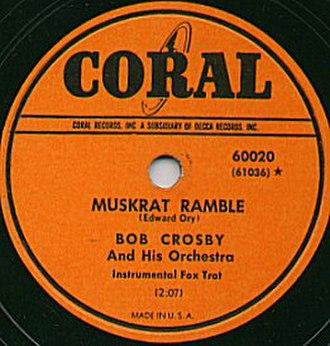 Coral Records - Image: Coral Record Muskrat
