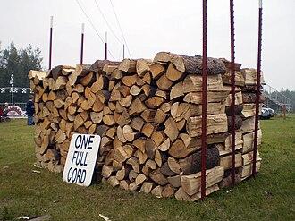 Cord (unit) - A cord of wood