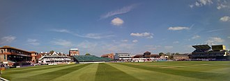 County Ground, Taunton - Panoramic view of the County Ground, Taunton