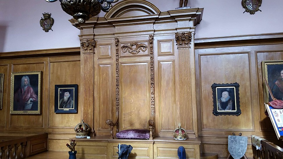 Courtroom of the Earl Marshall, Court of Chivalry, College of Arms, London