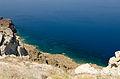 Crater rim - view from Athinios port - Santorini - Greece - 07.jpg