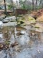 Creek with rocks at Fallon Park in Raleigh, North Carolina.jpg
