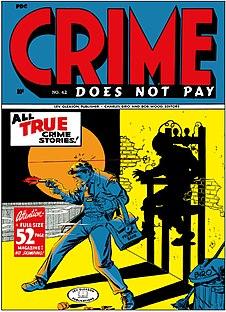<i>Crime Does Not Pay</i> (comics) comic book
