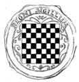 The seal of the Kingdom of Croatia and Dalmatia was affixed in 1527 to the Cetin Charter that confirmed the Habsburg to be the rulers of Croatia