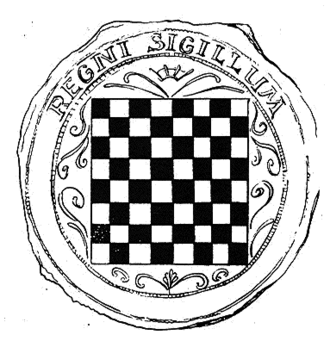 Election in Cetin - Royal seal of the Kingdom of Croatia is imprinted in the middle of Cetingrad Charter