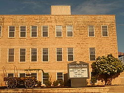 Crockett County Museum is adjacent to the Crockett County Courthouse.