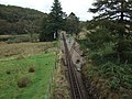 Crossing the line at Dduallt Station on Ffestiniog Railway - geograph.org.uk - 1478356.jpg