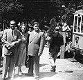 Csoportkép 1949-ben a Budapesti Őszi Vásáron. Fortepan 54133.jpg