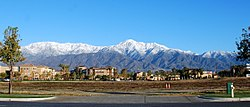 Downtown Rancho Cucamonga in December 2008