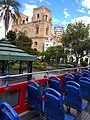 Cuenca Ecuador..pic 3.5a Tour Bus, South America Andes Mountains.jpg