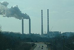 Cumberland Power Plant at Cumberland City