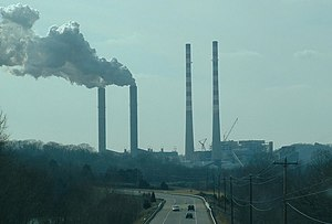 Cumberland City, Tennessee - Cumberland Fossil Plant at Cumberland City