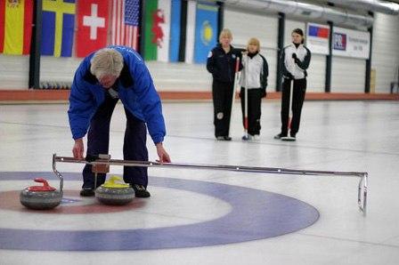 Curling metering