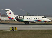 Czech Air Force Canadair CL-600-2B16 Challenger 601-3A Lebeda.jpg
