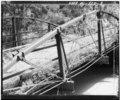 DETAIL VIEW OF SOUTH TRUSS, LOOKING NORTHEAST - McGilvray Road Bridge No. 6, Van Loon Wildlife Area, La Crosse, La Crosse County, WI HAER WIS,32-LACR.V,1-D-3.tif