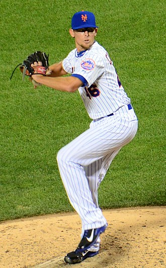 Tyler Clippard - Clippard pitching for the New York Mets in 2015