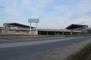 Eszperantó úti Stadion - Image: DUV Stadion