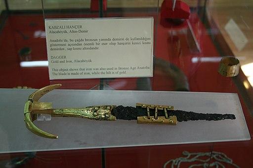 Dagger Alacahoyuk