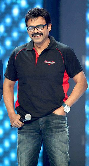 Daggubati Venkatesh - Venkatesh at Opening ceremony of CCL - Season 3