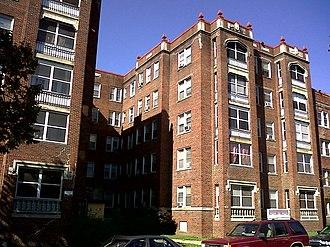 Brookland (Washington, D.C.) - Dahlgreen Courts