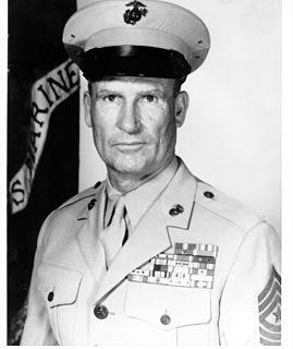 Joseph W. Dailey 5th Sergeant Major of the Marine Corps