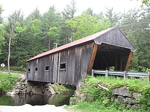 National Register of Historic Places listings in New Hampshire - Dalton Covered Bridge