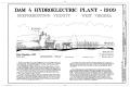 Dam No. 4 Hydroelectric Plant, Potomac River, Martinsburg, Berkeley County, WV HAER WVA,2-SHEP.V,1- (sheet 1 of 6).png