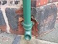 Damaged bench mark in Duke Street - geograph.org.uk - 1371980.jpg