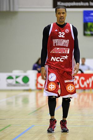 Tampereen Pyrintö - Damon Williams is among Pyrintö's most successful basketball players.