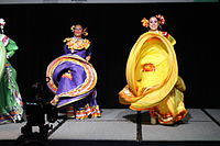 Dancing at the Wikimania 2015 Opening Ceremony IMG 7603.JPG