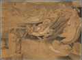 Dante im zweiten Kreis der Hölle oder dem unsteten Aufenthalt der in der Liebe Unenthaltsamen, spricht mit Francisca da Rimini (SM 942d).png