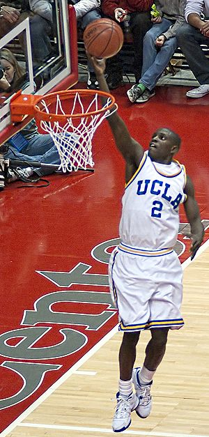 2008–09 UCLA Bruins men's basketball team - Darren Collison at the DePaul game