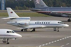 504 Squadron (Portugal) - Dassault Falcon 50 of 504 Squadron